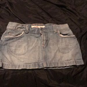 Women's jean skirt Mossimo size 9